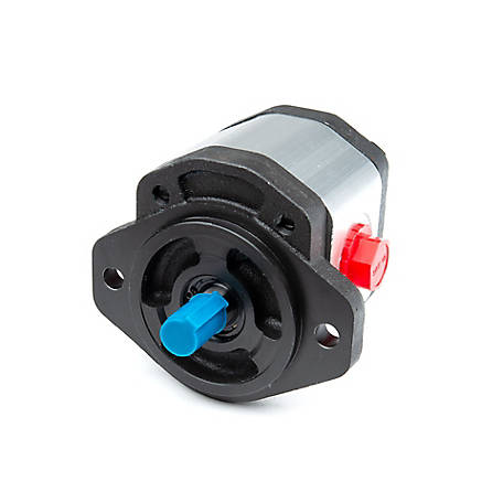 Chief Gear Pump, 5/8 Shaft, 1.52 CID, 13.16 @ 2000 RPM, 2900 PSI, 2-Bolt A, CW Rotation