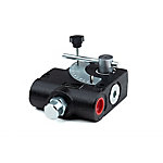 Chief FC Series Valve, 0-30 GPM, 3/4 NPT/Side Ports, 750-3000 PSI Relief