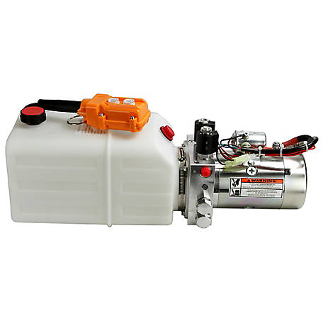Maxim Hydraulic Power Unit (12V DC, Double Acting), 1.3 GPM, SAE 6 Ports, 2500 PSI, 1.5 Gallon Polly Tank