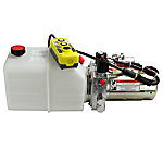 Maxim Hydraulic Power Unit (12V DC, Double Acting), Power Up/Down, 1.3 GPM, SAE 6, 5 qt. Polly Tank