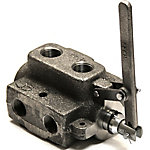 Parker 2-Position Double Selector Valve, Parker No. DS-12, 25 GPM, SAE 12 Port Size, 3000 PSI