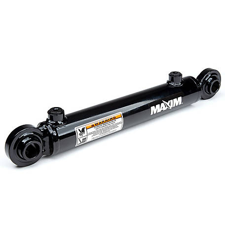 Maxim WSB Swivel Ball Welded Cylinder, 1.5 in. Bore x 8 in. Stroke, 1 in. Rod Dia.