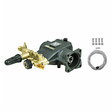 AAA 3200 PSI at 2.8 GPM Industrial Triplex Plunger Pump Kit, 90036