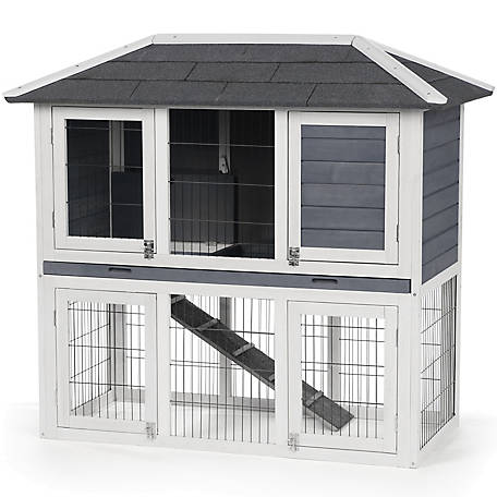 Prevue Pet Products Rabbit Hutch Duplex, 4601