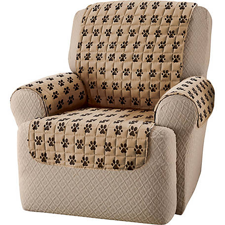 Innovative Textile Solutions Paw Prints Recliner Furniture Protector