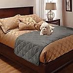 Innovative Textile Solutions Faux Suede Full/Queen Bed Protector