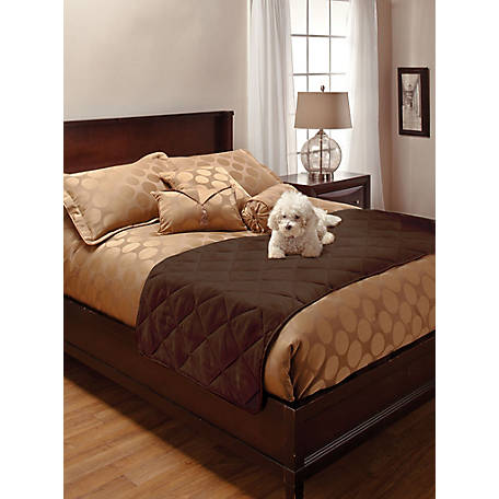 Innovative Textile Solutions Faux Suede King Bed Protector