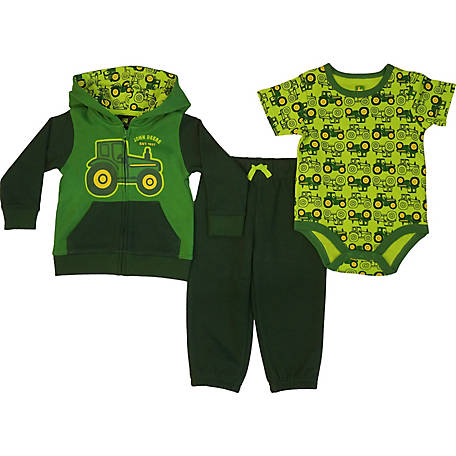 John Deere Boy S Infant Tractor 3 Piece Set At Tractor Supply Co