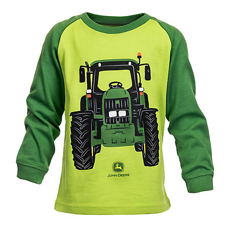 John Deere Boy S Long Sleeve Toddler Come Go Shirt At Tractor