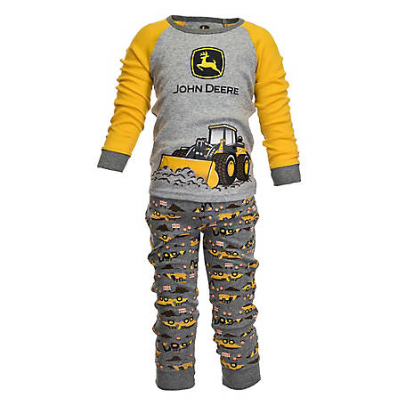 44336bb5a67 John Deere Boy s Toddler Construction Pajamas - 1308225 at Tractor ...