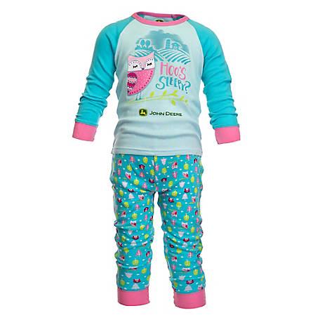 8dc2e6677 John Deere Girl s Toddler Barn Owl Pajamas at Tractor Supply Co.