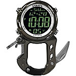 Dakota Digital Zip Clip with Bottle Opener Carabiner Watch, Gunmetal