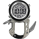Dakota Digital Zip Clip with Bottle Opener Carabiner Watch, Silver