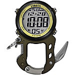 Dakota Digital Zip Clip with Bottle Opener Carabiner Watch, Green