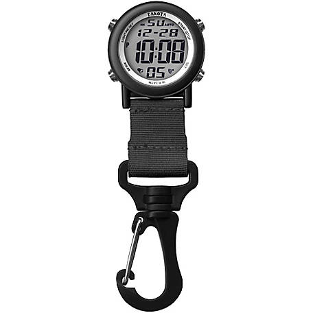 Dakota Digital Lightweight Backpacker Watch, Black