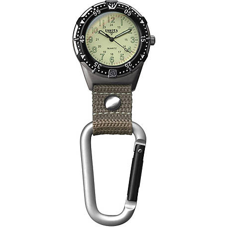 Dakota Aluminum Backpacker Watch, Khaki