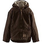 C.E. Schmidt Girl's Sherpa-Lined Sanded Duck Hooded Jacket