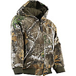 C.E. Schmidt Kid's Realtree Edge Camouflage Quilt-Lined Hooded Jacket