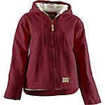 C.E. Schmidt Women's Sherpa-Lined Sanded Duck Hooded Jacket