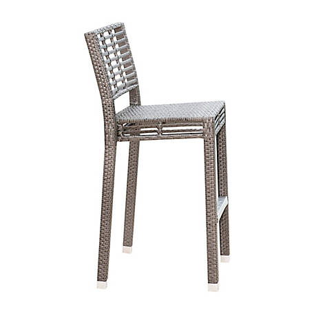 Panama Jack Graphite Stackable Barstool
