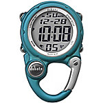 Dakota Mini Digital Clip Watch, Aqua