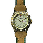 Dakota Men's Stingray EL Outrider Watch, Gold and Green