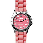 Dakota Easy Clean Light Up Silicone Watch, Pink