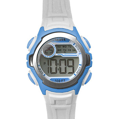 Dakota Kid's Digital Stingray Watch, White