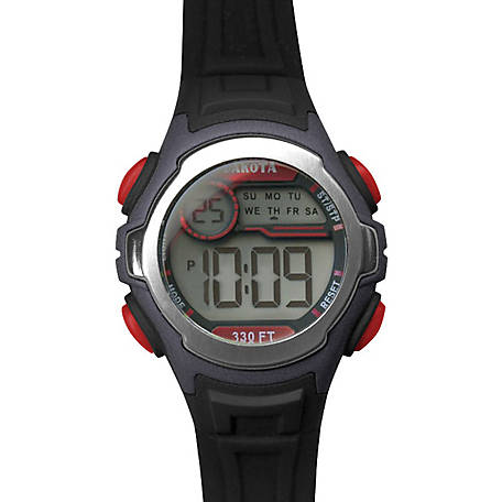 Dakota Kid's Digital Stingray Watch, Black