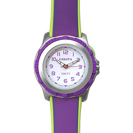 Dakota Kid's EL Stingray Watch, Purple