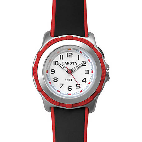 Dakota Kid's EL Stingray Watch, Red