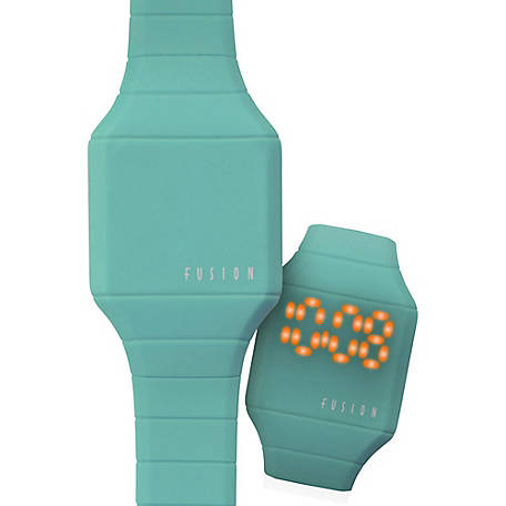 Fusion Kid's Mini Hidden LED Watch, Teal