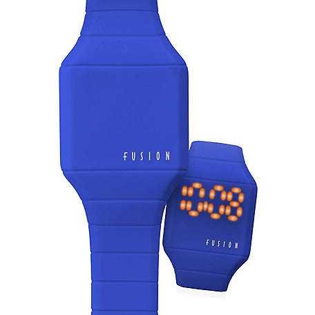 Fusion Kid's Mini Hidden LED Watch, Blue