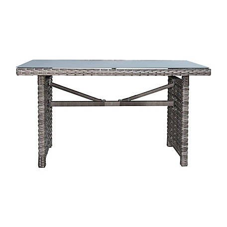 Panama Jack Graphite Rectangular High Coffee Table