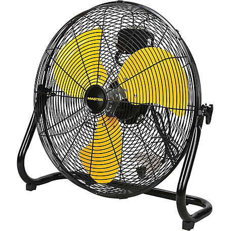 Master 20 in. High Velocity Floor Fan, MAC-20F