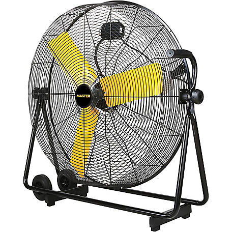 Master 30 in. High Velocity Cradle Drum Fan, MAC-30BCT