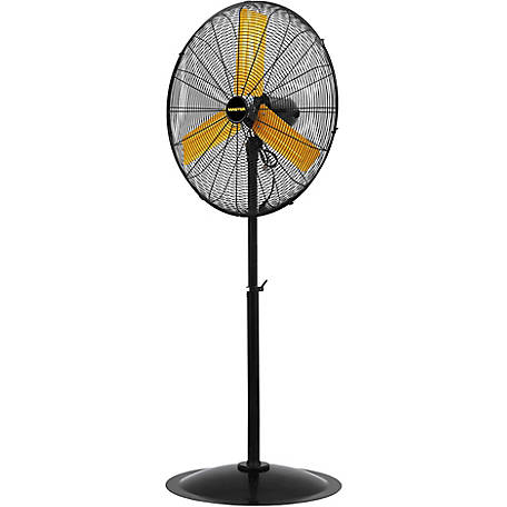 Master 30 in. High Velocity Pedestal Fan, MAC-30P