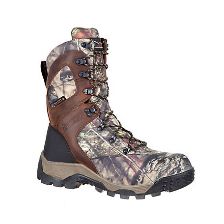 Rocky Men's 9 in. Mossy Oak Break-Up Country Sport Pro Waterproof Insulated Lace-Up Boot