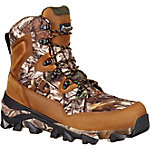 Rocky Men's 8 in. Brown Realtree Xtra The Claw Waterproof Insulated Lace-Up Boot
