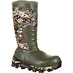 Rocky Men's 16 in. Venator Camo The Claw Waterproof Insulated Rubber Boot