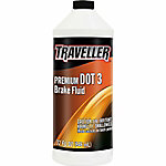 Traveller DOT 3 Brake Fluid, 32 fl. oz.