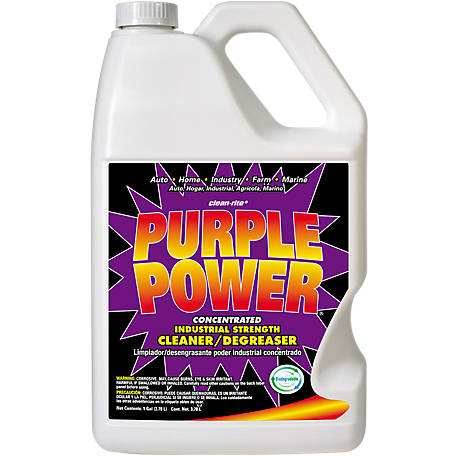 Clean-Rite Purple Power Industrial Strength Cleaner/Degreaser, 1 gal.