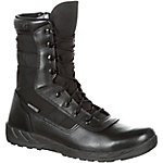 Rocky Men's 8 in. Black C7 Waterproof Lace-Up Boot