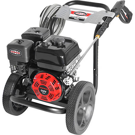 Simpson MegaShot 3,000 PSI at 2.4 GPM SIMPSON 208cc Cold Water Premium Residential Gas Pressure Washer (49-State), 60944
