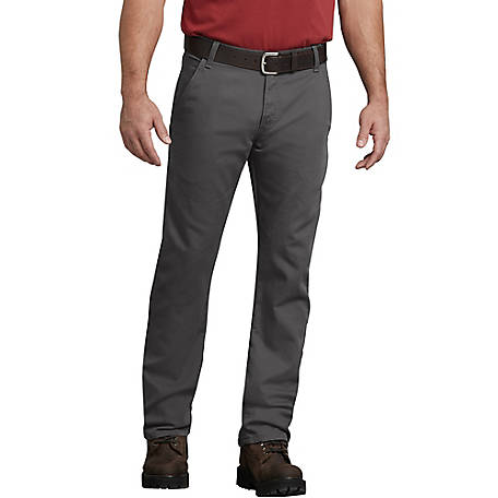 Dickies Men's FLEX Regular Fit Straight Leg Tough Max Duck Carpenter Pants
