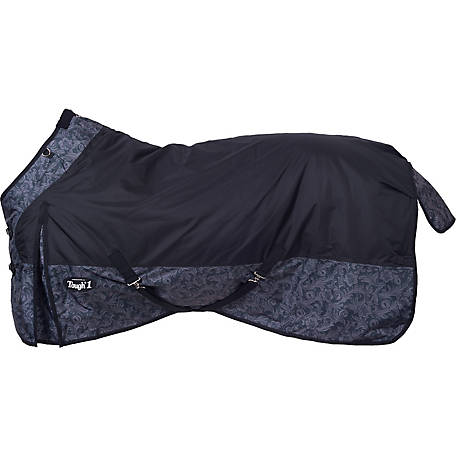 Tough-1 600D Waterproof Turnout Blanket, Tooled Leather Print