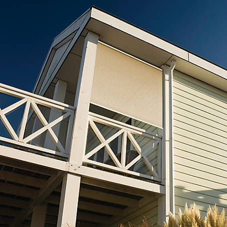 Coolaroo Exterior Roller Shade, 90% UV, 8 ft. x 6 ft.
