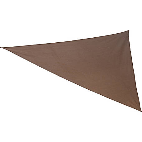 Coolaroo Ready to Hang 16 ft. 5 in. Triangle Shadesail