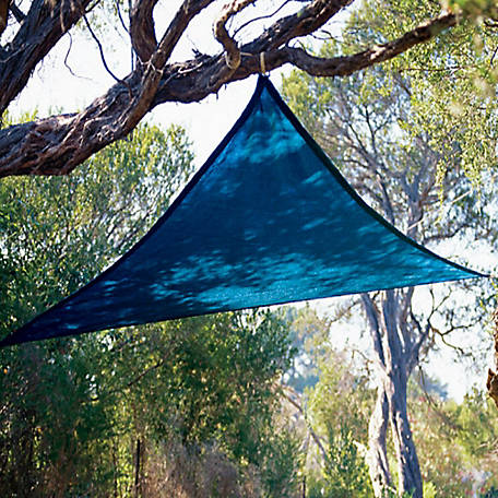 Coolaroo Party Sail 9 ft. 10 in. Triangle Shadesail