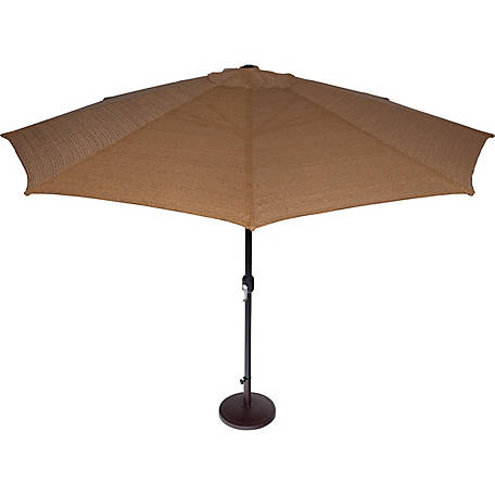 Coolaroo 11 ft. Round Market Umbrella